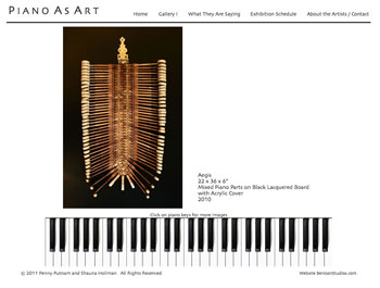 Piano As Art Website Image